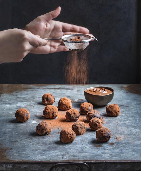 recette de Truffes au Nutella