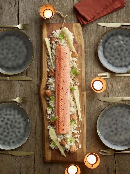 recette de Grand Baron de saumon