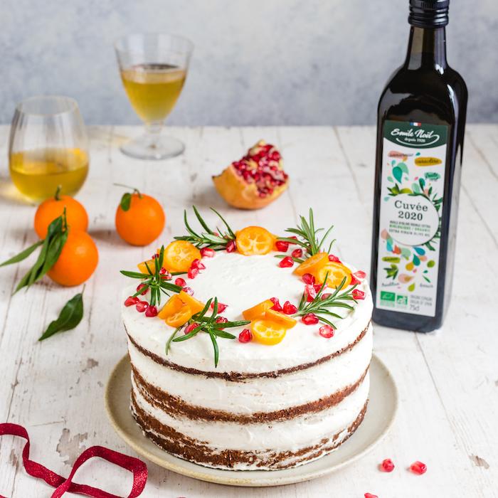 recette de Gâteau à l'orange et à l'huile d'olive