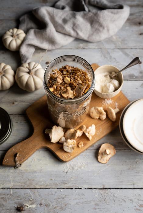 recette de Risotto de petit épeautre aux girolles