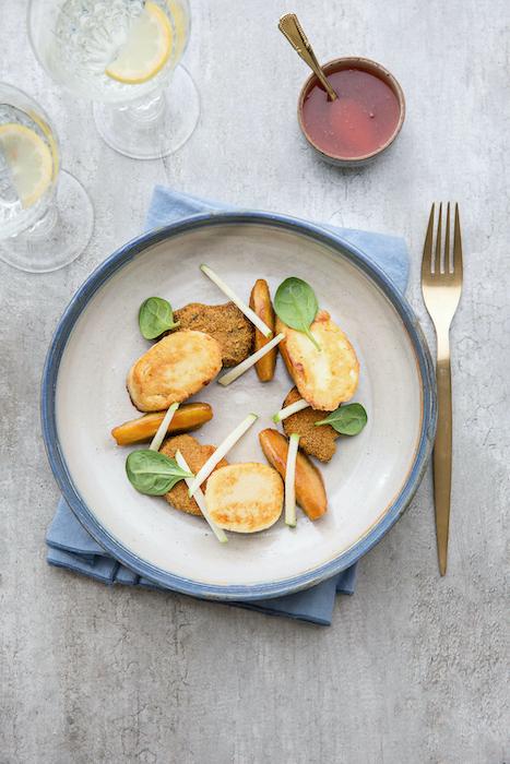 recette de Suprêmes soufflées au foie gras