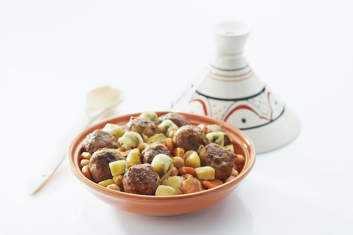 recette de Tajine franc-comtois au Morbier