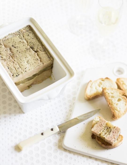 recette de Terrine de foie gras à l'Armagnac