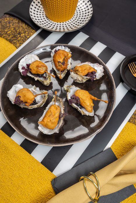 recette de Tempura d'huîtres