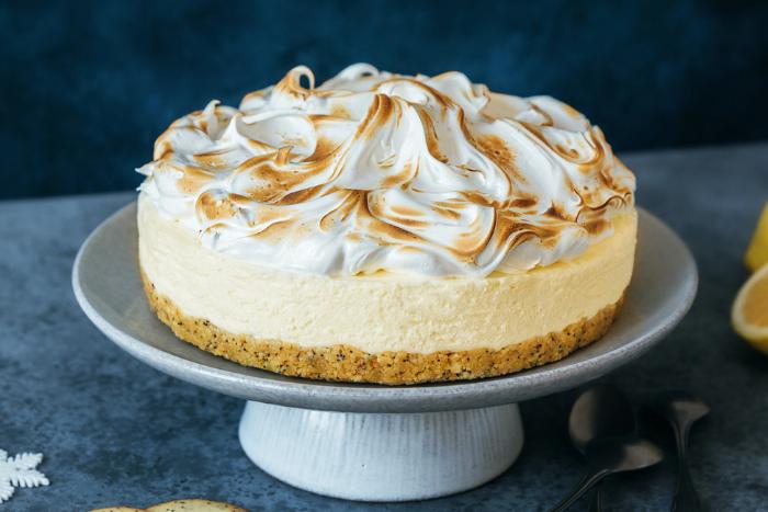 Cheesecake citron meringué