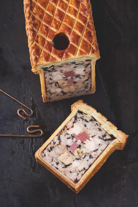 recette de Pâté en croûte de l'Elysée