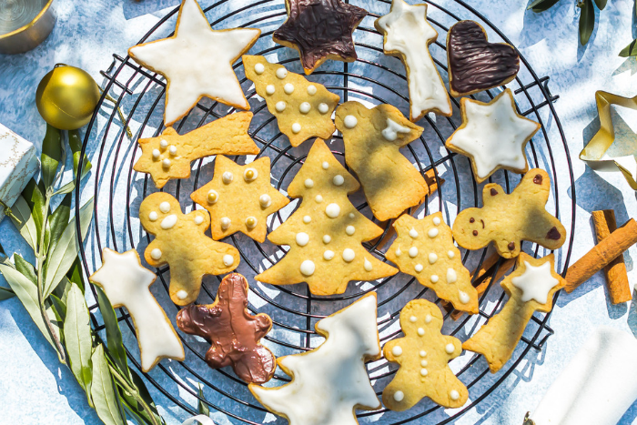 Biscuits de Noël à l'huile d'olive