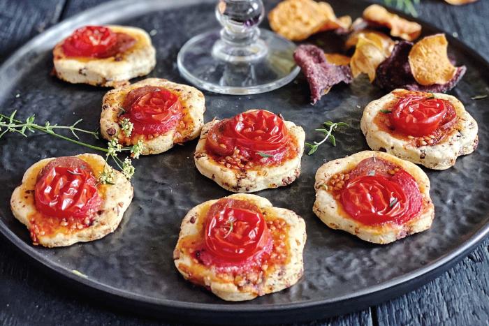 Sablés aux tomates séchées