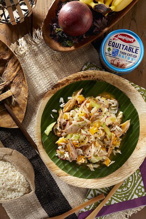 recette de Salade des îles Salomon