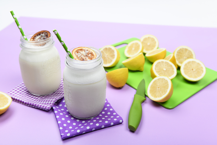 All in Lemon Smoothie