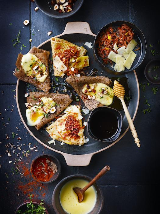 recette de Crème et confit fromagers
