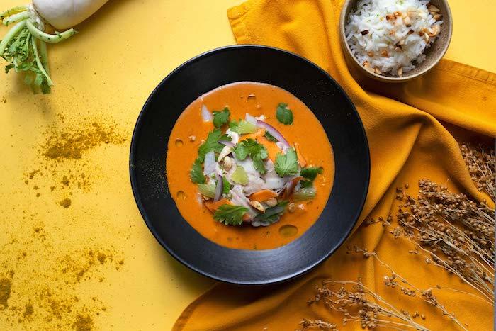 recette de Curry de cervelle d'agneau