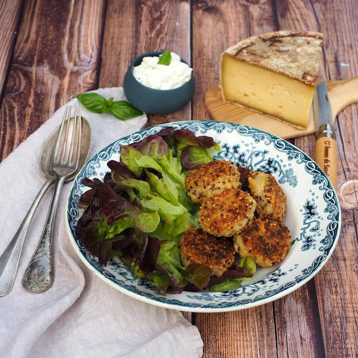 recette de Croquettes de quinoa et Tomme de Savoie