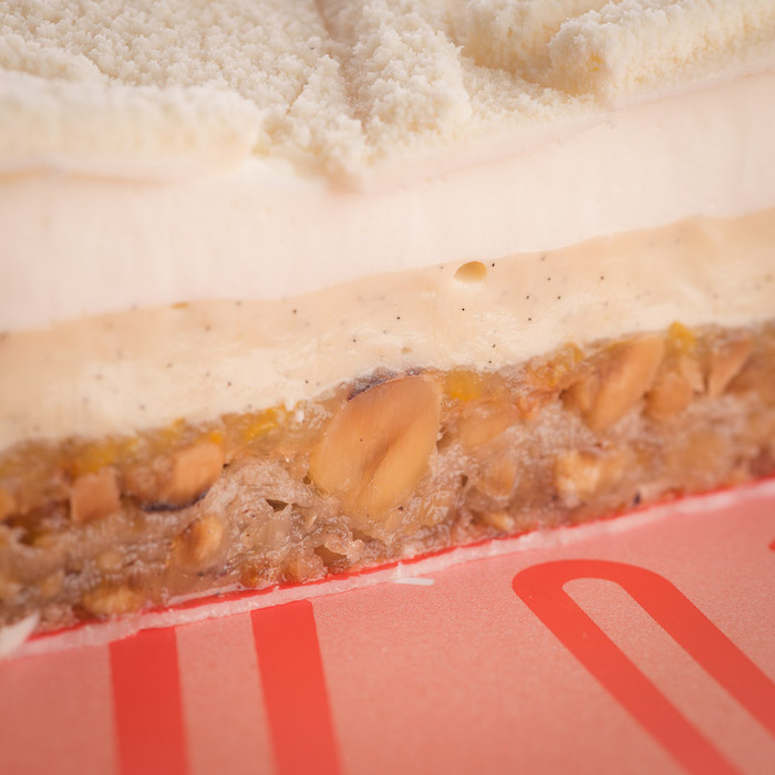 composition du gâteau