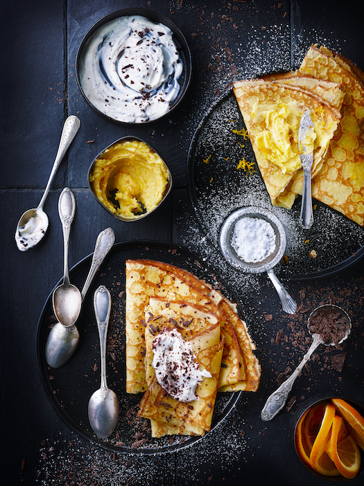 recette de Crème stracciatella
