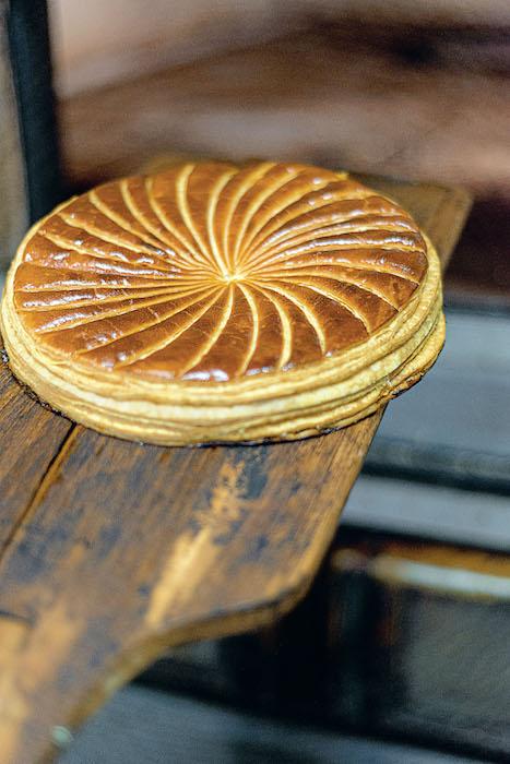 la recette de La galette à la frangipane de Stohrer