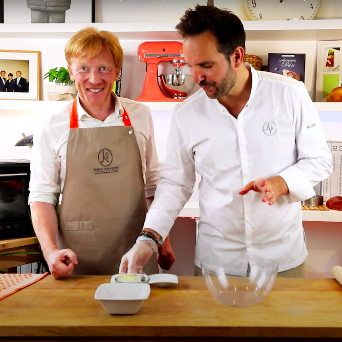 la recette du flan pâtissier de Christophe Michalak