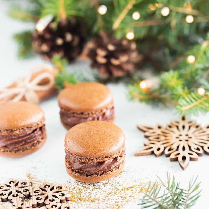 recette de Macarons à la mousse au chocolat
