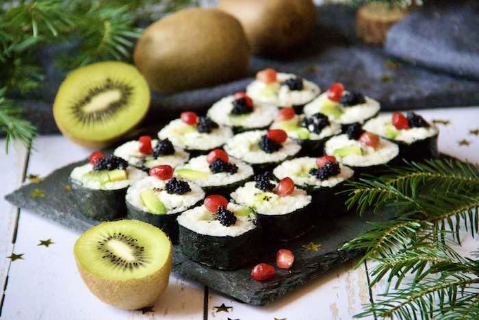 recette de Makis au kiwi