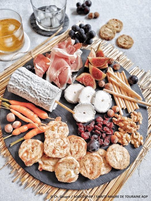 recette de Sablés au Sainte Maure de Touraine