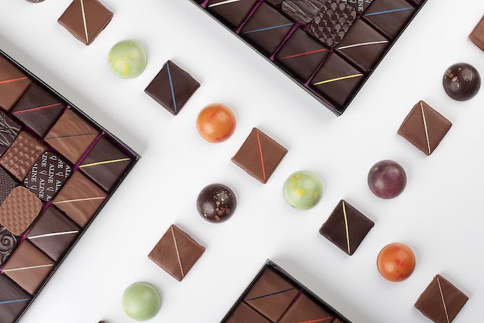 les chocolats Aline Chocolatière