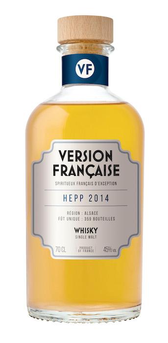 Version Française Hepp 2014 Single Malt alsacien