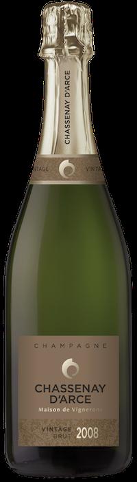 Champagne Chassenay d'Arce Vintage 2008
