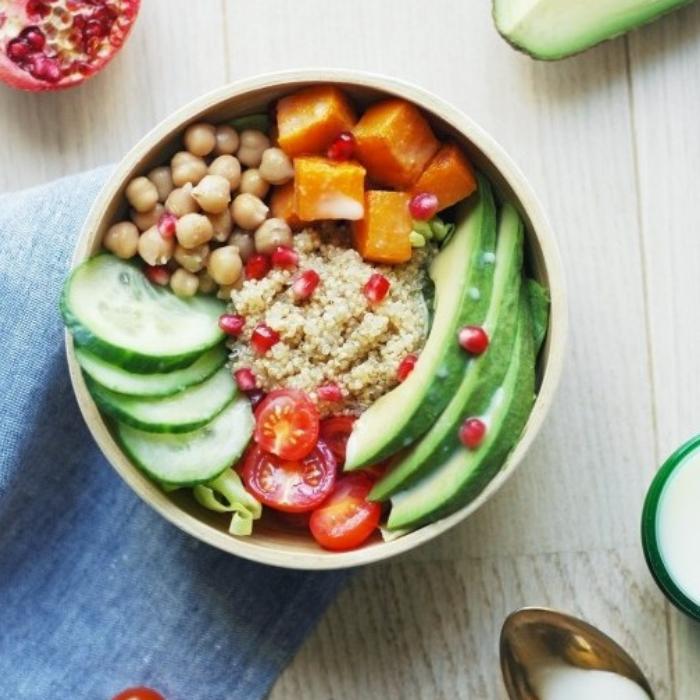 recette de Buddha bowl aux légumes colorés