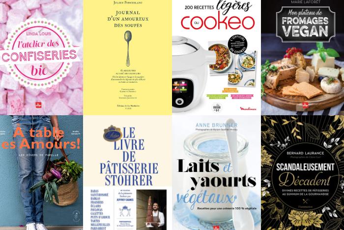 Les livres de cuisine de janvier 2021