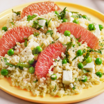 Salade de boulgour au pamplemousse de Floride