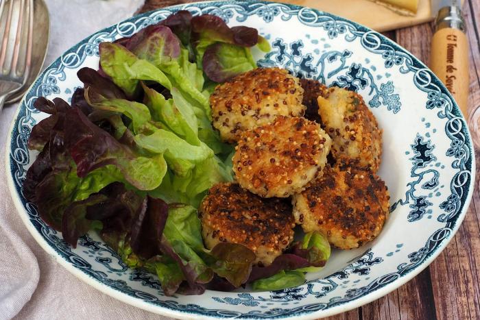 Croquettes de quinoa et Tomme de Savoie