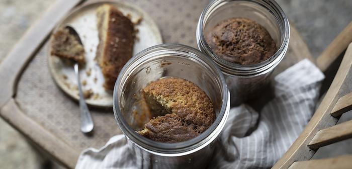 la recette du gâteau marbré en bocal
