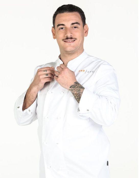 Top Chef Saison 12 Arnaud Baptiste