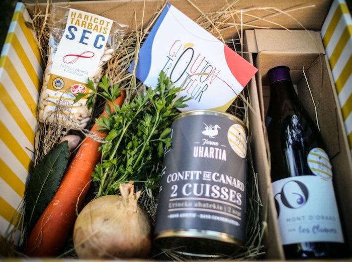 box recette et vin
