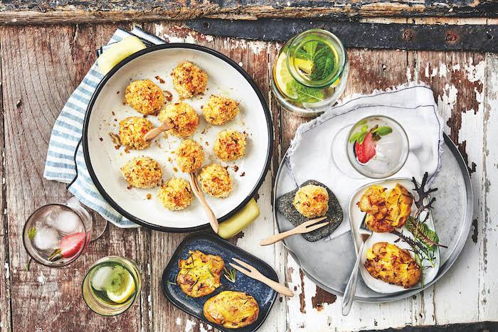 recette de Cromesquis de pommes de terre au poisson