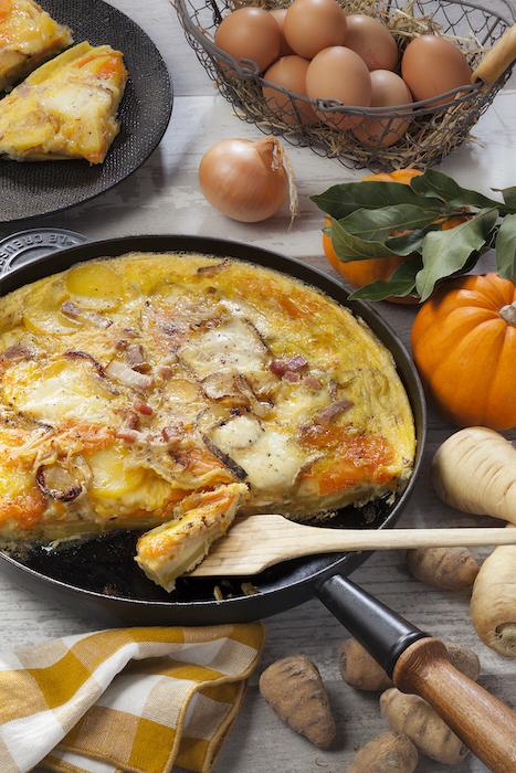 recette de Tortilla aux légumes anciens
