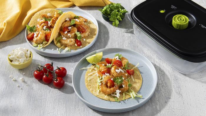 recette de Crevettes en marinade mojo
