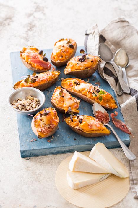 recette de Patates douces en robe des champs