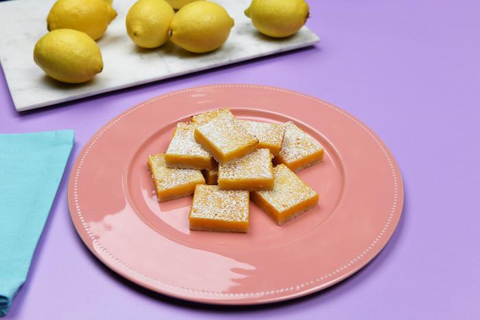 recette de Petits gâteaux au citron