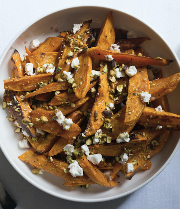 recette de Patates douces rôties aux pistaches