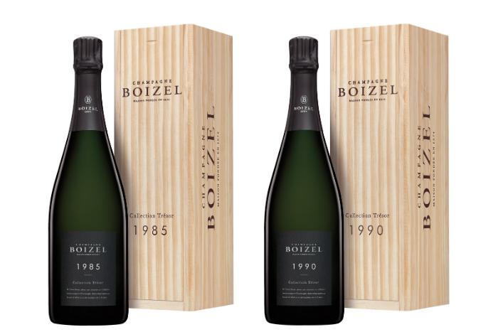 Millésimes 1985 et 1990 Champagne Boizel