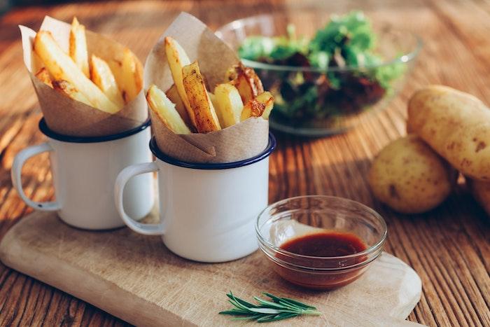 la recette des vraies frites belges