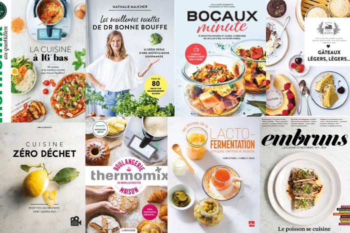 Les livres de cuisine de février 2021
