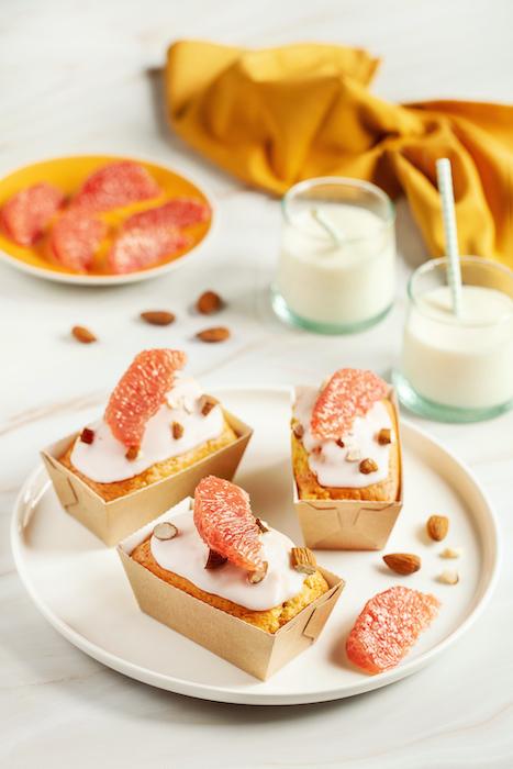recette de Mini cakes au pamplemousse de Floride