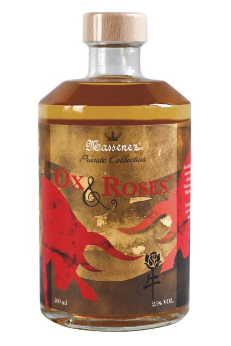 Liqueur Ox & Roses de Massenez
