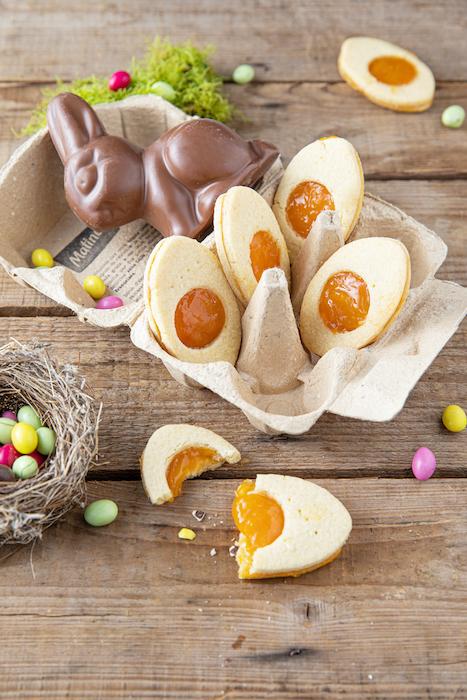 recette de Sablés de Pâques à la confiture