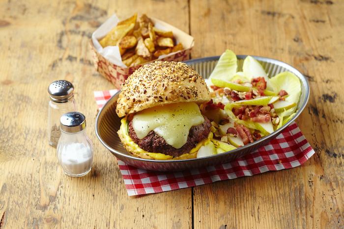 recette de Burger basque à l'Ossau-Iraty