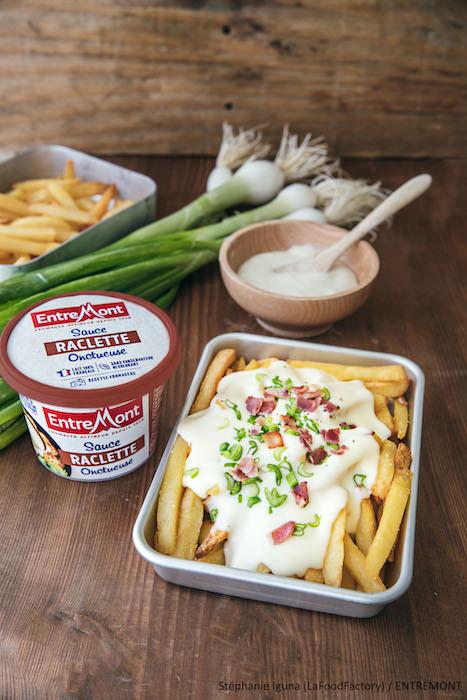 recette de Loaded-fries sauce Raclette