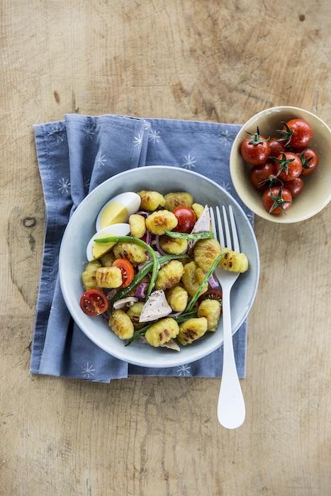 recette de Salade niçoise aux gnocchi