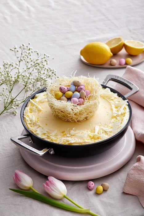 recette de Gâteau au chocolat blanc et au citron